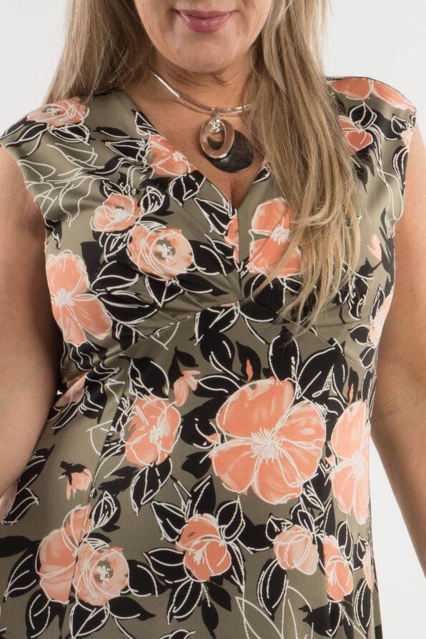 Peach Blossom Dress, Olive, original image number 2