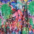 Printed Sleeveless Dress with Asymmetrical Hem, Multi, swatch