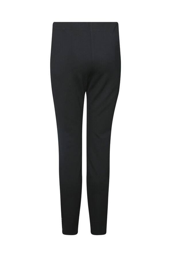 Legging with Grommets Accents, Black, original image number 1
