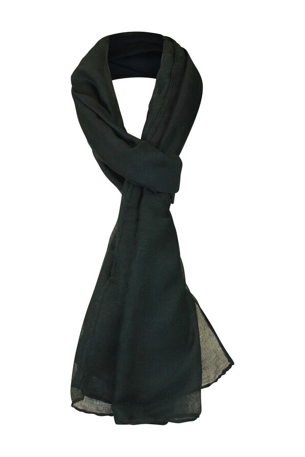 Solid Colour Rectangle Scarf, , original image number 3
