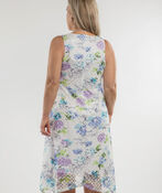 Floral Fields Dress, White, original image number 2