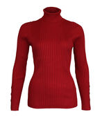 Regina Ribbed Turtle Neck, , original image number 0