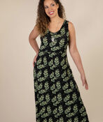 Isla Maxi Dress, Black, original image number 0