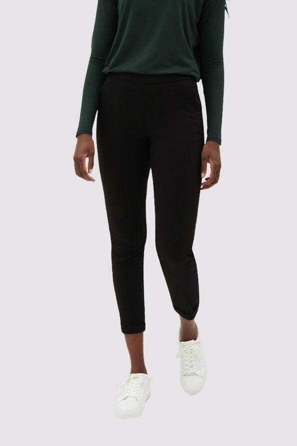 Enhancing Tummy-Control Pants, Black, original image number 0