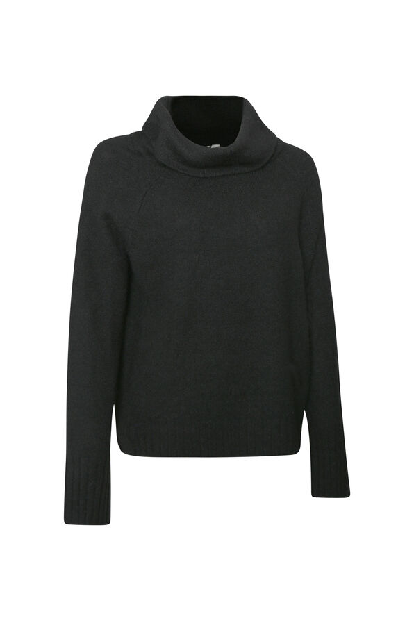 Cocoon Sweater with Cowl Neck, , original image number 1