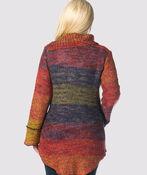 Space-Dye Groove Sweater, Multi, original image number 2