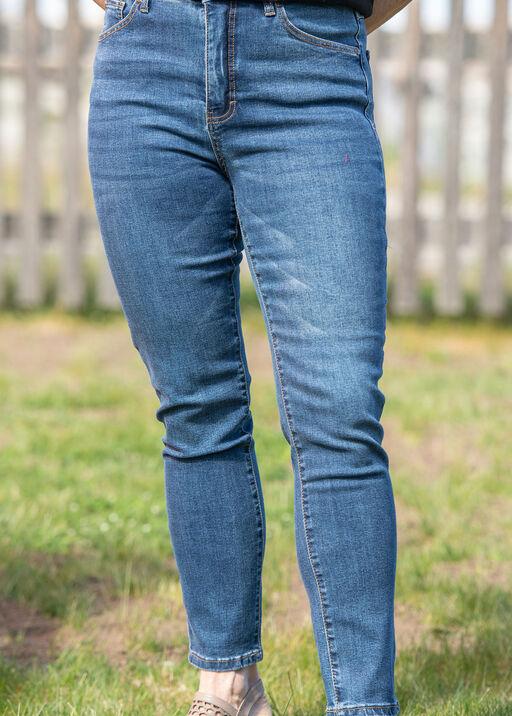 Brooke 5 Pocket High Rise Ankle Jean, Denim, original