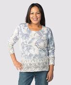 Unbelievably Soft Sweater , Denim, original image number 1