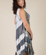 Novah Sleeveless Dress, Grey, original image number 1