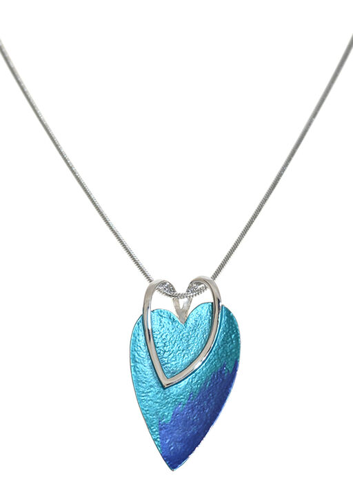 Heart on Heart Necklace, , original