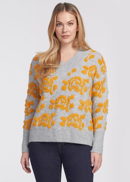 Flower Power Sweater, Yellow, original