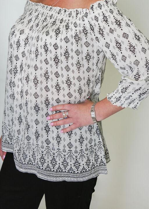 Amara Off the Shoulder Blouse, White, original