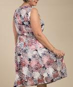 Maci Sleeveless Dress, Navy, original image number 2
