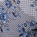Floral Prind Crepe Blouse, Grey, swatch