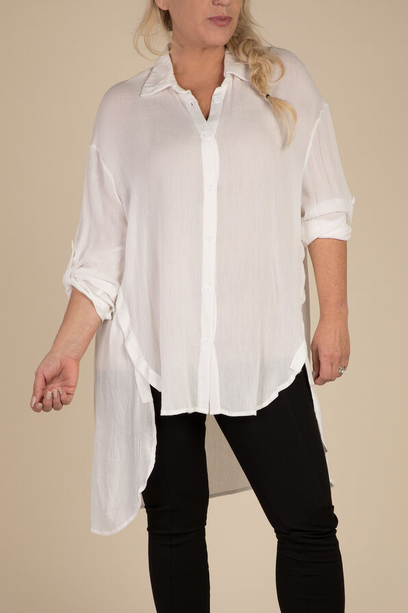 Elena Blouse, White, original image number 2