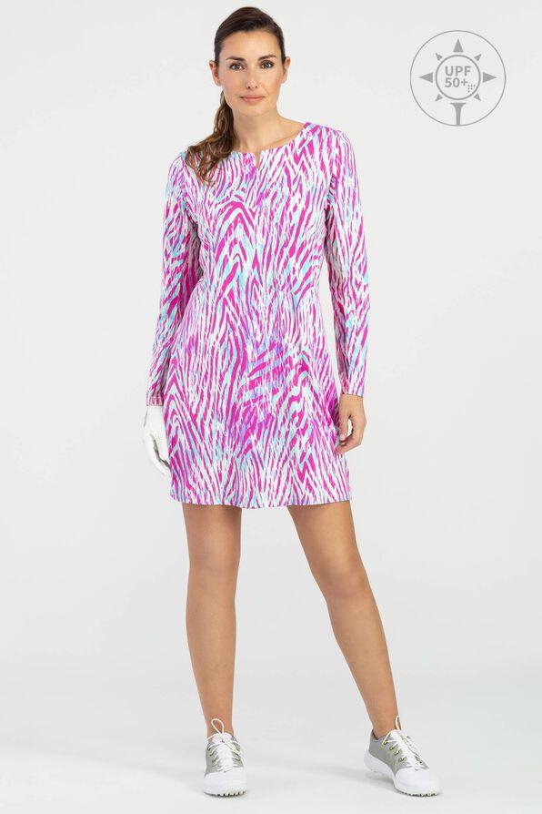 Olivia Golf Dress, Pink, original image number 0