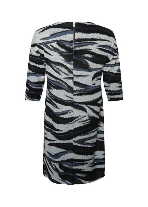 Aleta Sweater Dress 3/4 Sleeve, Indigo, original