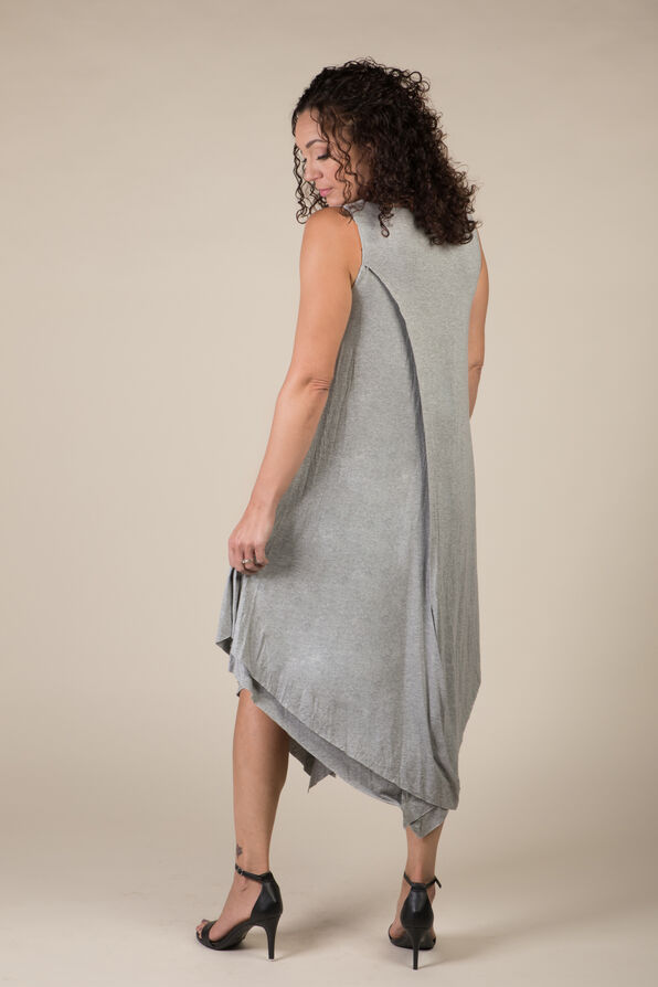 Melody Dress, Grey, original image number 3