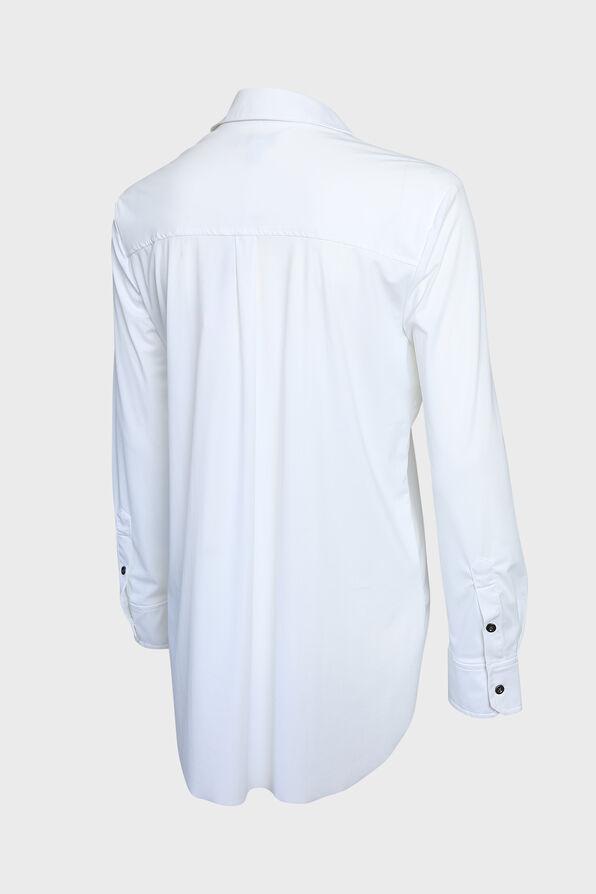 Wrinkle Resistant Dress Shirt, White, original image number 1