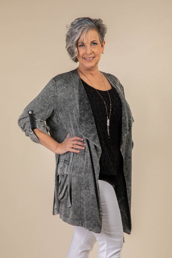 Donna Jacket, Grey, original image number 0