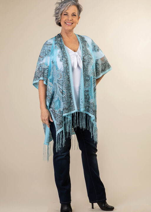 Perfect in Paisley Kimono, , original