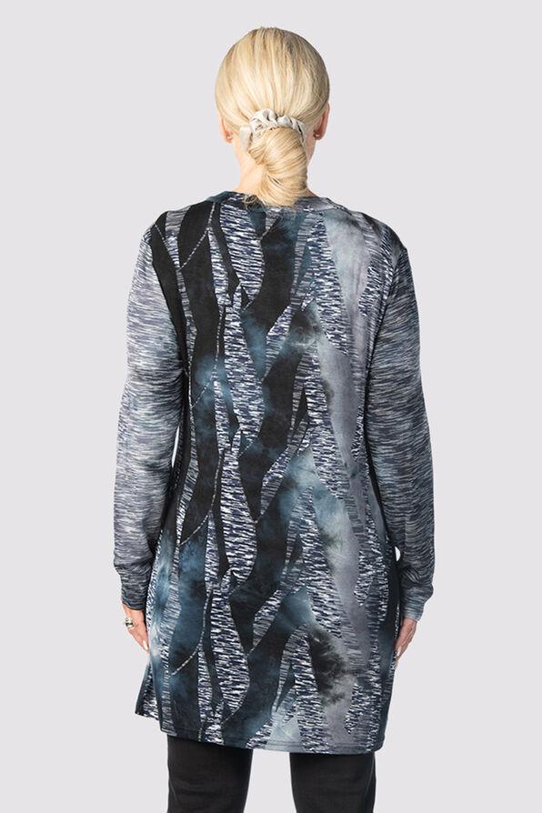 Tie-Dye Tiffany Top, Grey, original image number 2