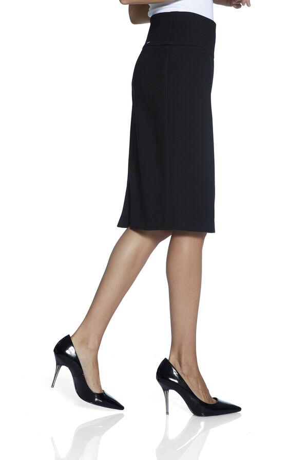 UP Ponte Knit Skirt, Black, original image number 2