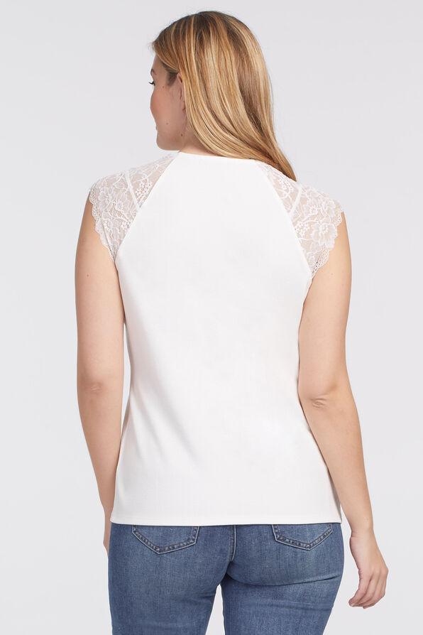 Luxe Lace Cami , Cream, original image number 1