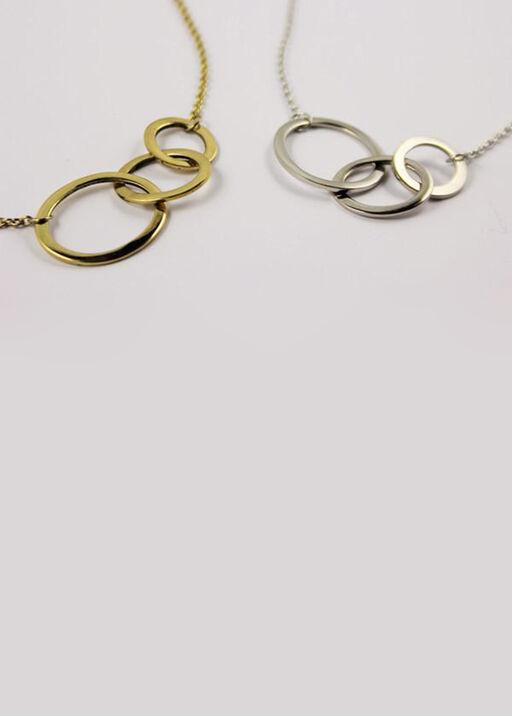 Triple Circle Necklace, , original