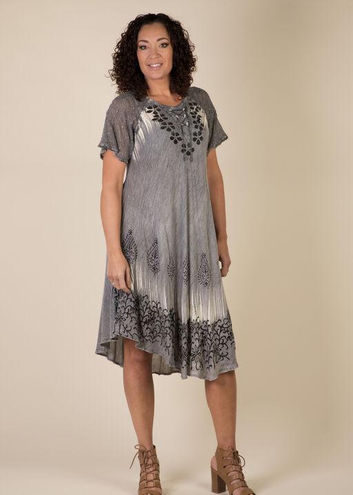 Sheer Flutters Dress, , original