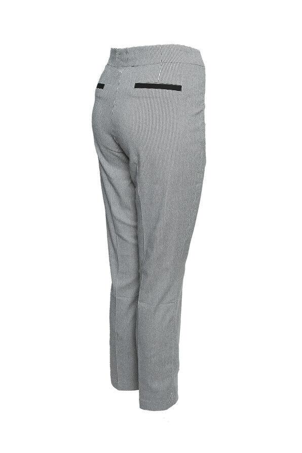 Houndstooth Flatten It Pant, Black, original image number 1