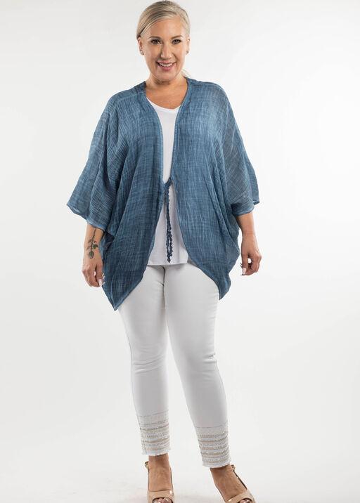 Lace Back Kimono, , original