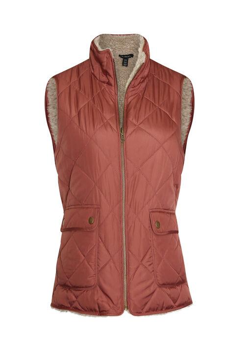 Reversible Sherpa Vest, , original