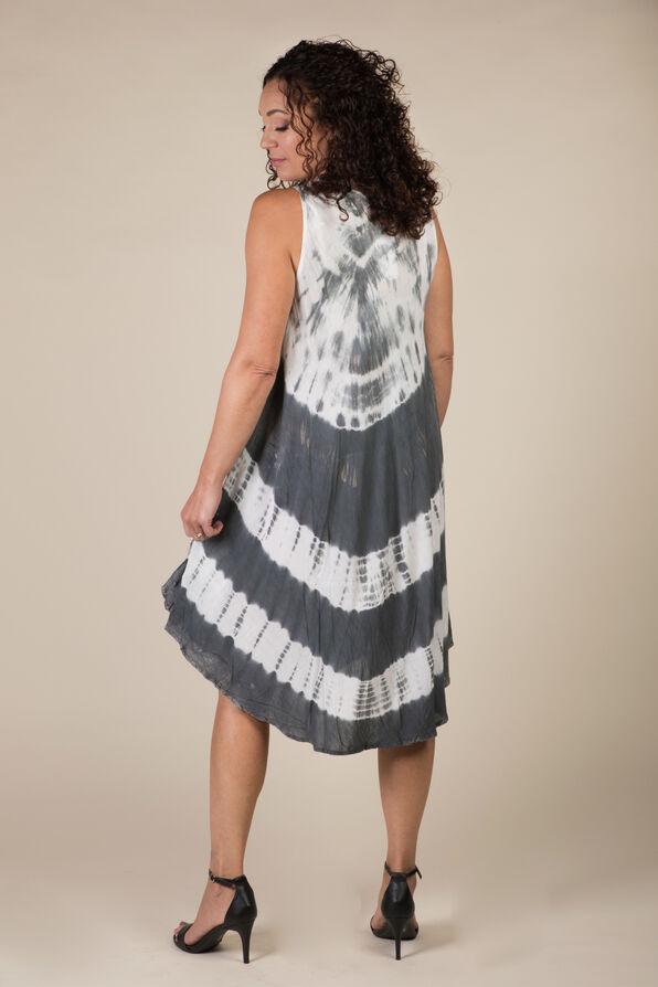 Novah Sleeveless Dress, Grey, original image number 3