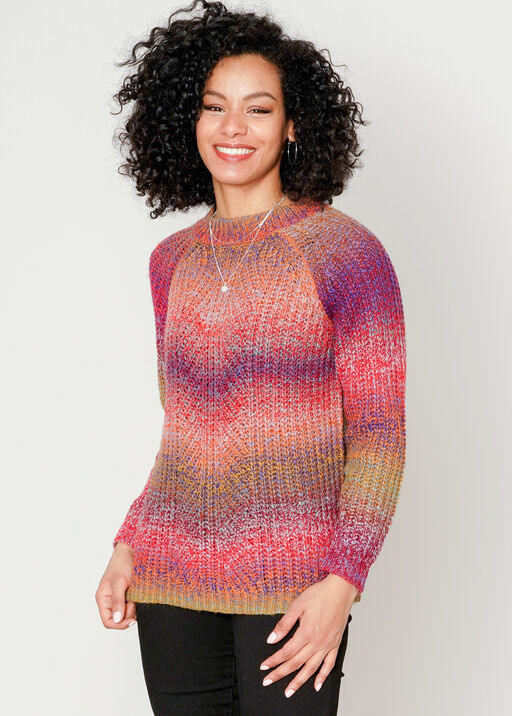Vibrant Vibes Sweater, Berry, original