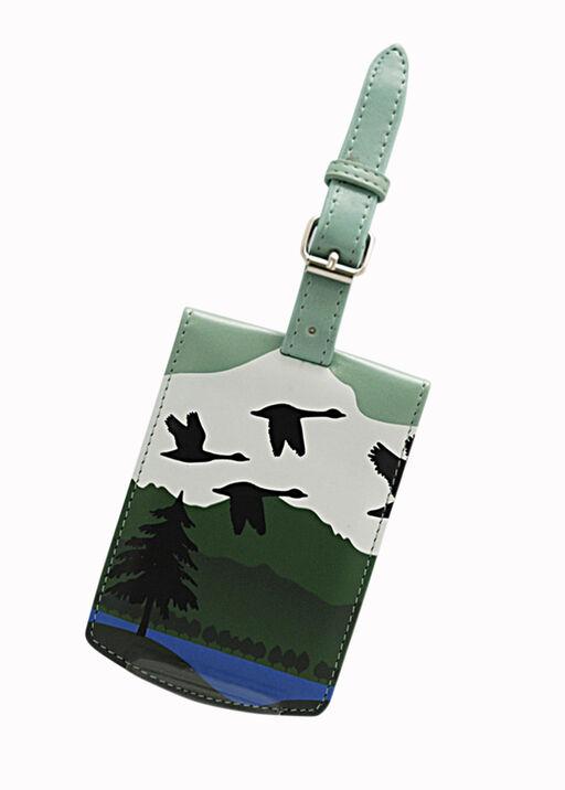 Canadian Geese Luggage Tag, , original