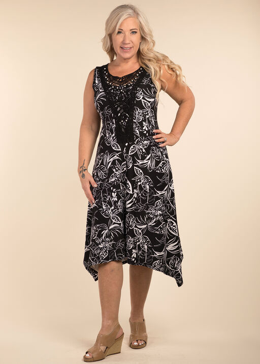 Say It With Pearls Dress, Black, original