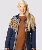 Cabin-Chic Sweater Hoodie , , original image number 1