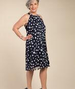 Summer Shimmer Dress , Navy, original image number 0