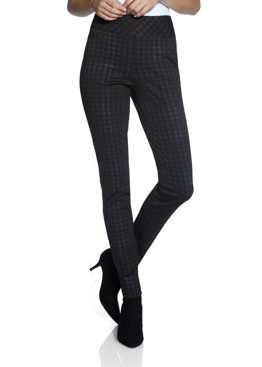 UP Ponte Plaid Pants, Black, original