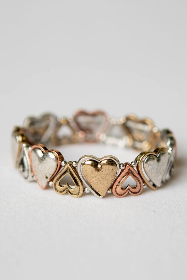 Heart Stretch Bracelet, Multi, original image number 0