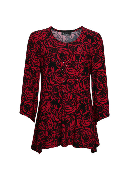 Rose Printed Top , , original
