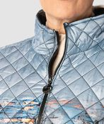 Canadian Puffer Jacket, Denim, original image number 3
