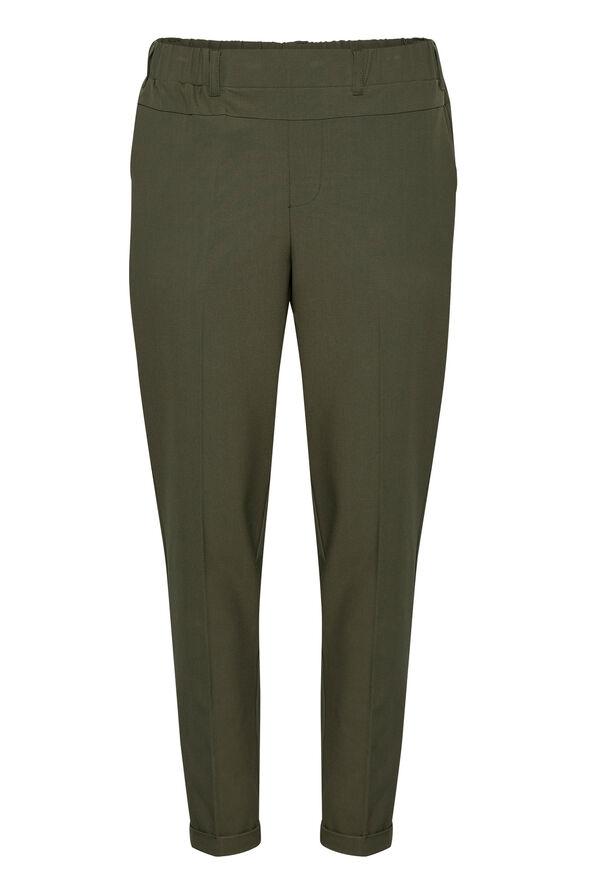 Kaffe Nanci Jillian 7/8 Pants Trouser Style, Green, original image number 0