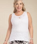 Embroidered Style Sleeveless, , original image number 5