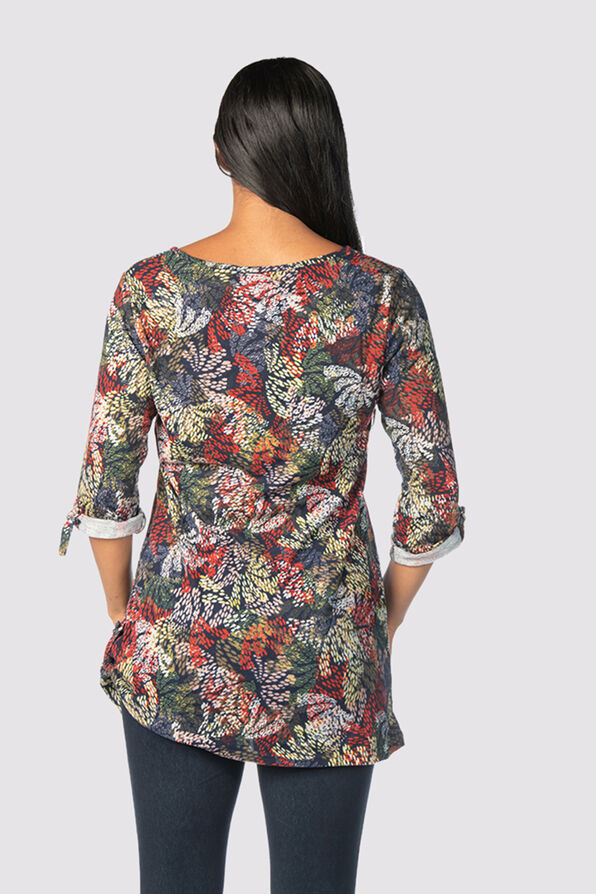 Timelessly Tailored Tunic, Navy, original image number 2
