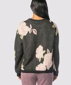 Clarkia Throwback Sweater, Black, original image number 2