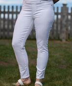 Tribal White Ankle Dream Jeans, White, original image number 0