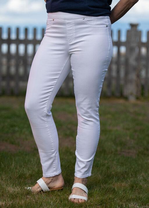 Tribal White Ankle Dream Jeans, White, original