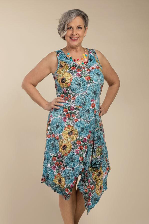 Fiona Dress, Blue, original image number 2